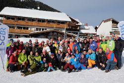 Skitrainingstage Oberjoch, Teilnehmergruppe. Foto: Dawid K.