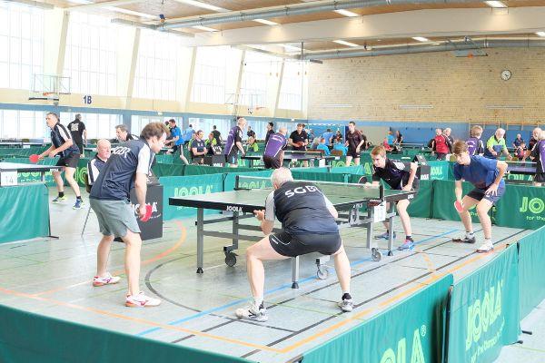 Tischtennis, Foto: Arnd Aalemanns