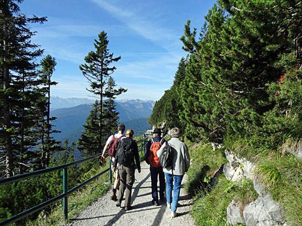 Herbstwanderung 2019 Herzogstand, Foto: Karin Widl