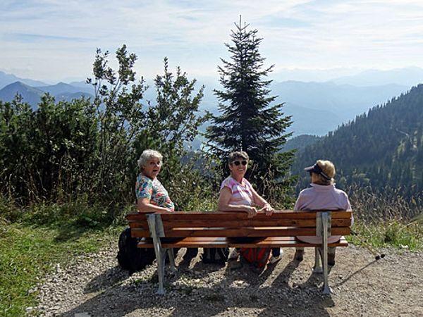 Herbstwanderung 2019 Herzogstand, Foto: Marina Schuricke