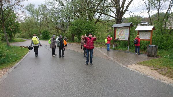 Wanderung Solnhofen. Foto: Hans Mühlbauer