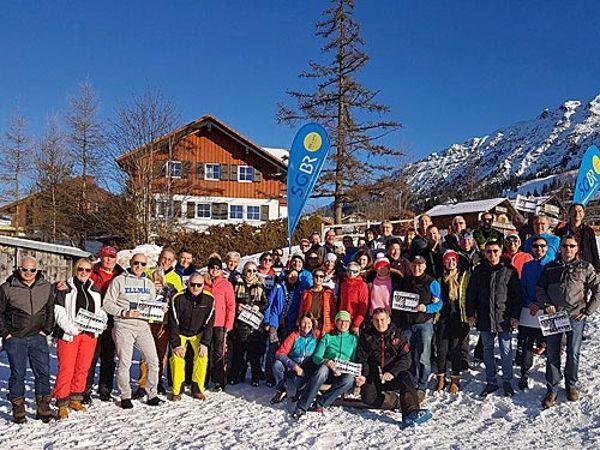 Gruppenfoto Ski Oberjoch